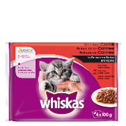 Whiskas new generation junior carnes de 400g.
