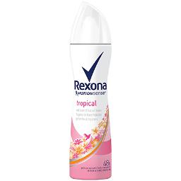 Tropical desodorante girl rexona de 20cl.