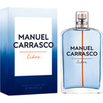 Carrasco manuel libre eau toilette natural masculina de 10cl. en spray