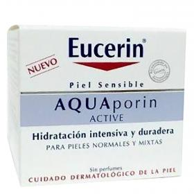 Eucerin crema aquaporin active piel normal mixta de 50ml.