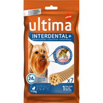 Ultima interdental stick dental perros mini envase 5-10 de 70g. por 7 unidades
