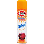 Oro ambientador fresh frutal de 40,5cl. en spray