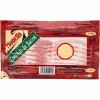 Monells bacon en lonchas monells de 140g. en sobre
