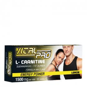 Power vital pro l carnitine energy corpore diet por 20 unidades