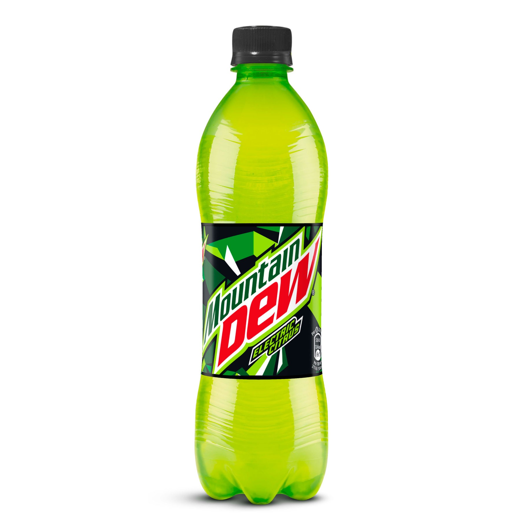 Mountain Dew energy refresco lima limon de 50cl. en botella