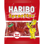 Haribo favoritos regaliz surtido sin colorantes artificiales de 150g. en bolsa