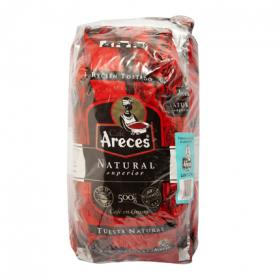 Areces cafe en grano natural de 1,5kg.
