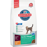 Hill's Science plan perfect weight alimento especial gatos adultos con pollo que alcancen un peso saludable de 1,5kg. en bolsa