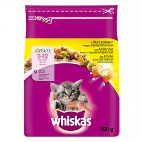 Whiskas seco junior pollo de 800g.