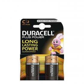 Duracell pack pilas alcalinas lr14 c nn 2 ud