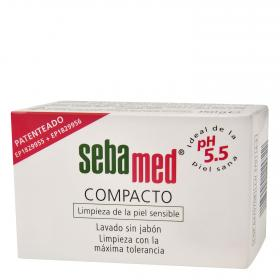 Sebamed compacto lavado piel sin jabon de 150g.