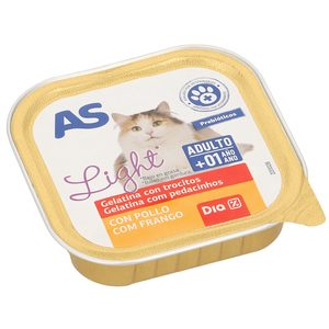As pate gatos light de 100g. en bote
