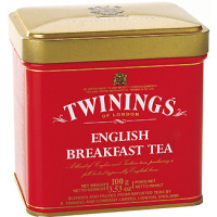 Twinings te english breakfast estuche de 100g.