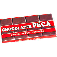 Chocolate puro la peca tableta de 100g.