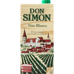 Don Simon vino blanco envase de 1l.