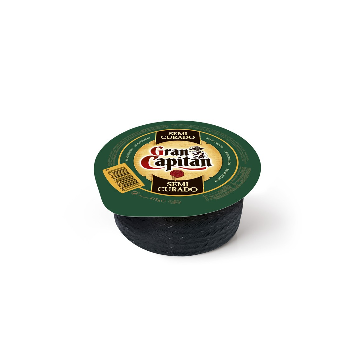Gran Capitán queso semicurado de 475g.