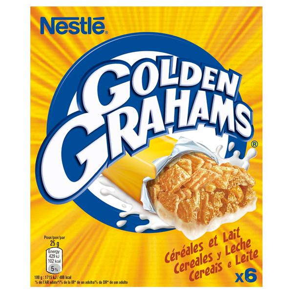 Golden Grahams golden grahams barritas cereales estuche de 150g. por 6 unidades