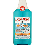 Licor Del Polo enjuague bucal 3d clean mentol intenso dientes encias lengua de 50cl. en bote