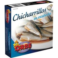 Orbe chicharrillo escabeche de 280g.