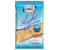 Vidal patata frita lisa light de 125g.