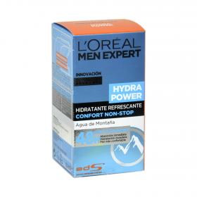 L'oréal Men Expert crema hidratante refrescante hydra power de 50ml.