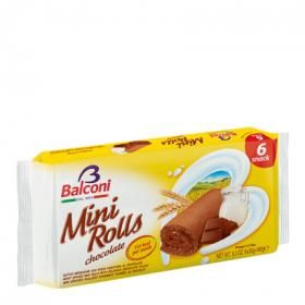 Balconi mini rolls chocolate de 180g.