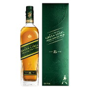 Johnnie Walker whisky escoces green label 15 años de 70cl.