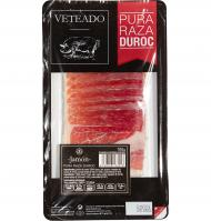 Jamon duriber duroc 100% de 100g.