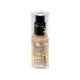El Miracle maquillaje match nº 65 rose beige max fp de 30ml.