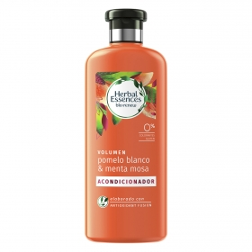 Herbal Essences acondicionador volumen pomelo blanco & menta mosa bio:renew de 40cl.