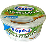 Exquisa quark natural de 500g. en tarrina