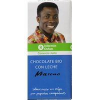 Oxfam chocolate con leche tableta de 100g.