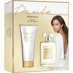 Paula echevarria sensuelle eau de toilette natural femenina + body lotion tubo de 75ml. en spray