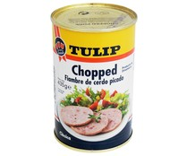 Tulip chopped pork de 435g. en lata