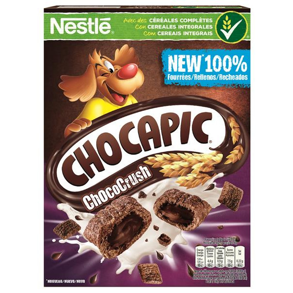 Chocapic cereales chocapic chococrush de 410g.