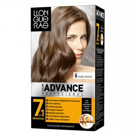 Llongueras coloracion permanente 6 rubio oscuro advance