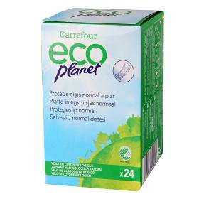 Carrefour Eco protege slip normal planet 24 en paquete