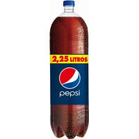 Pepsi refresco cola de 2,25l. en botella