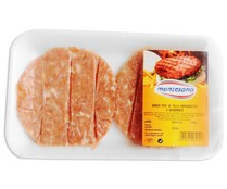 Montesano burger meat pollo hamburguesa de 160g.