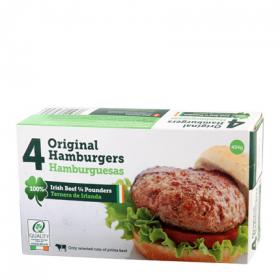 Hamburguesas quarter pounders dawn meat de 454g.