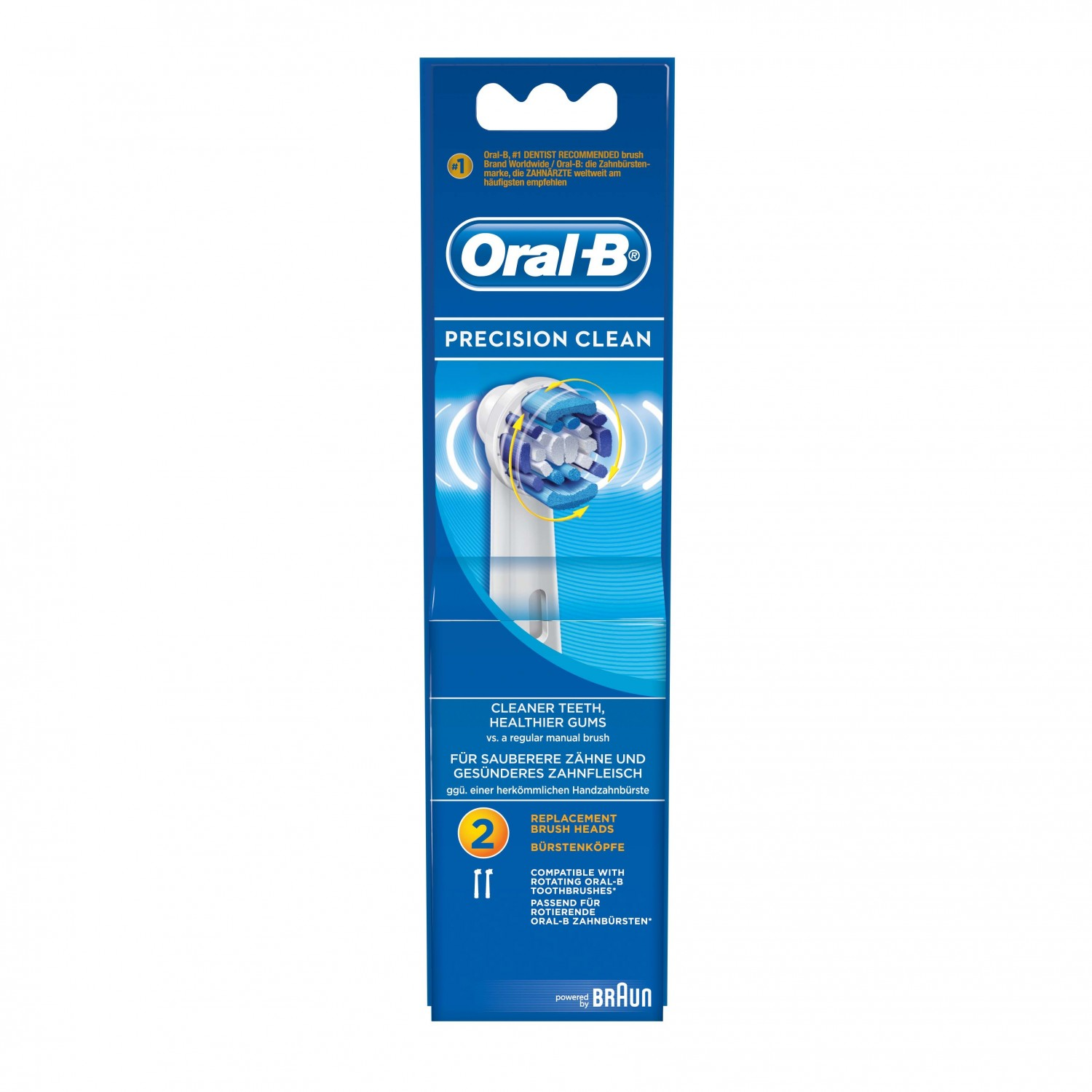 Oral B cepillo dental electrico recambio advance power 2
