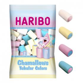 Haribo nubes colores tubular mallows de 250g.