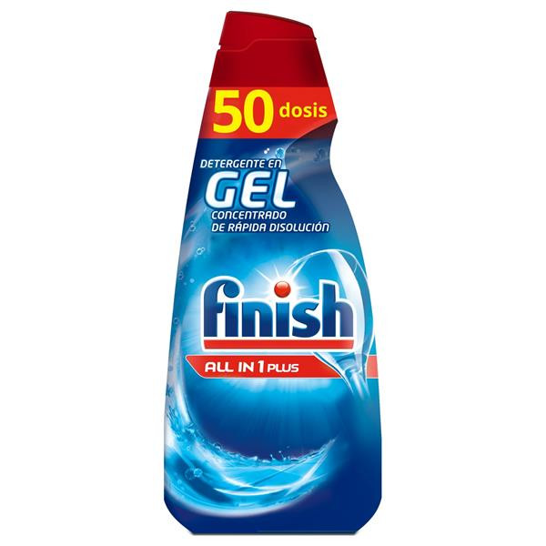 Finish gel lavavajillas maquina todo en 1 50 en botella