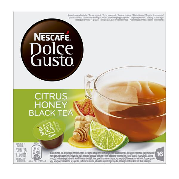 Nescafé Dolce Gusto citrus honey black tea por 16 unidades