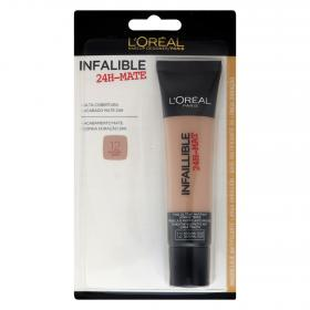 Loreal maquillaje infalible mate 24h nº12 naturel rose