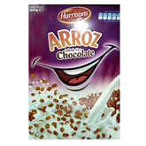 Harrisons cereal arroz inflado chocolate de 500g. en caja