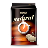 Hacendado cafe capsula natural mini 32 de 224g.
