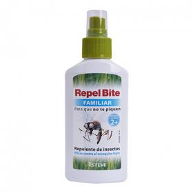 Repel bite repelente de insectos familiar repel bite de 10cl.