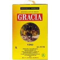Corredera vino montilla bag in box de 5l.