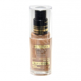 El Miracle maquillaje match nº 90 toffee max fp de 30ml.